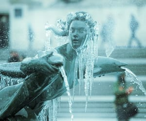 fish, frozen, and fountain image