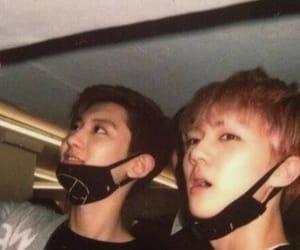 sehun, chanyeol, and exo image