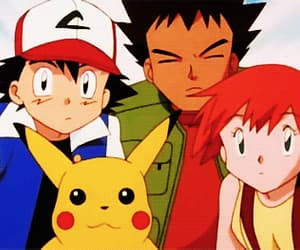 gif, misty, and pikachu image