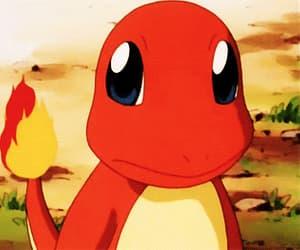 gif, charmander, and pikachu image