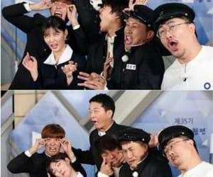 si yoon, cha tae hyun, and 1박 2일 image