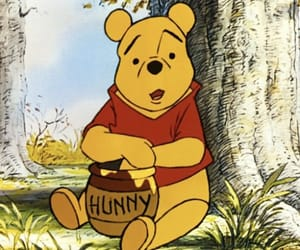 winnie the pooh, cartoon, and disney image
