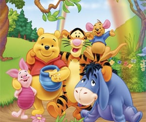 eeyore, friendship, and pooh image
