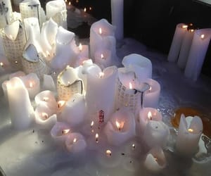 candles, aesthetic, and photography image