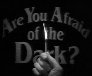 dark, afraid, and black and white image