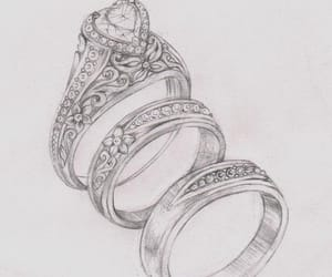 etsy, engagementring, and rosegold image