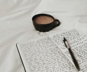 book, clean, and coffee image