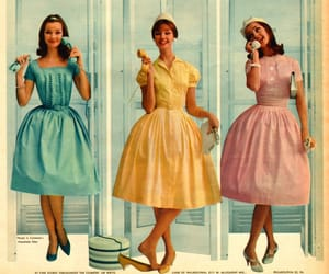 vintage, dress, and 60s image