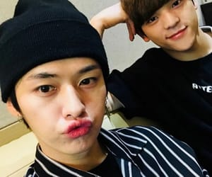 mihno, cute, and woojin image
