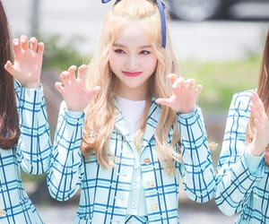 blonde, girl, and k-pop image