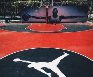 Basketball, court, and field image