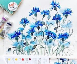 art, Bleu, and blue image