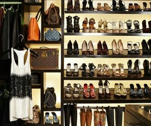 closet, house, and shoes image