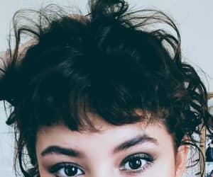 bangs, hair, and fun image