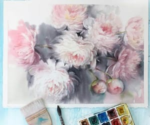 art, drawing, and fleur image
