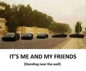 meme, friends, and cars image