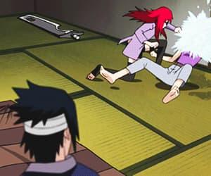 gif, karin, and sasuke image