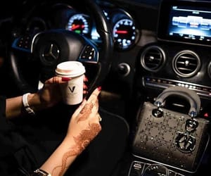 bag, car, and coffee image