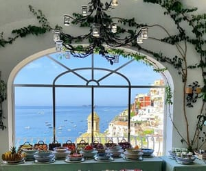 Amalfi, Amalfi coast, and beach image