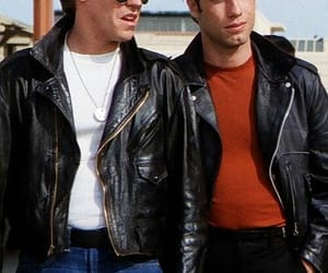 grease, boy, and John Travolta image