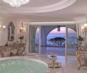 luxury, home, and pink image