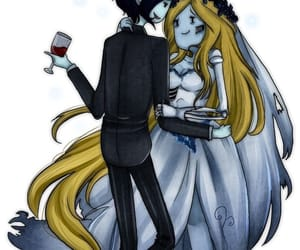 corpse bride, marshal lee, and fiolee image