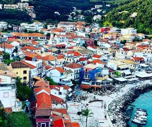 summer, parga, and Greece image