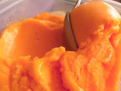 food, ice cream, and mango image