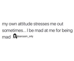 attitude, stress, and funny image