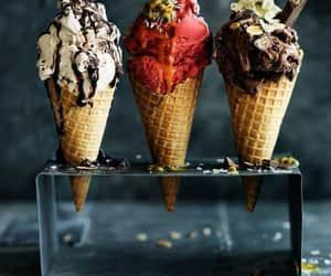 ice cream, food, and chocolate image