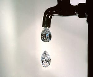 diamond, art, and water image