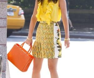 yellow, blair waldorf, and gossip girl image