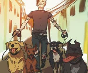 dogs, frank iero, and frankie image