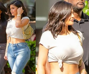 fashion, lips, and kylie jenner style image