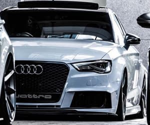 awesome, white, and audi image