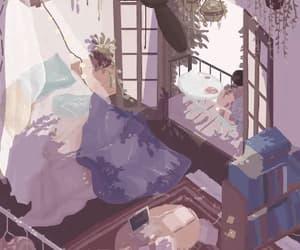 beautiful, gif, and room image
