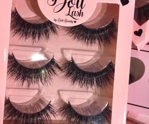 beauty, eyelashes, and lashes image