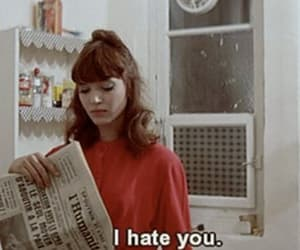 hate, quotes, and anna karina image