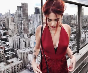 girl, luanna perez, and fire hair image