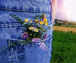 alternative, art, and flowers image