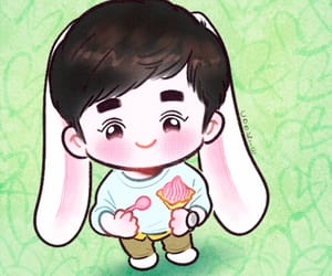 Chen, chibi, and lay image