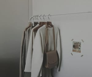aesthetic, beige, and clothes image