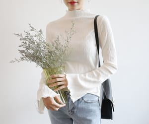 aesthetic, asian, and boquet image