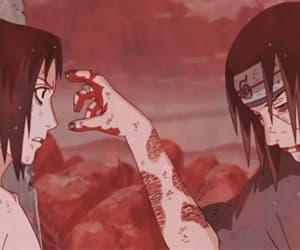 sasuke, itachi, and naruto image