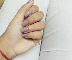aesthetic, long nails, and nail art image