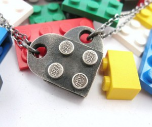 fashion, jewelry, and lego image