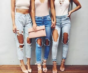 clothes, girls, and outfit image