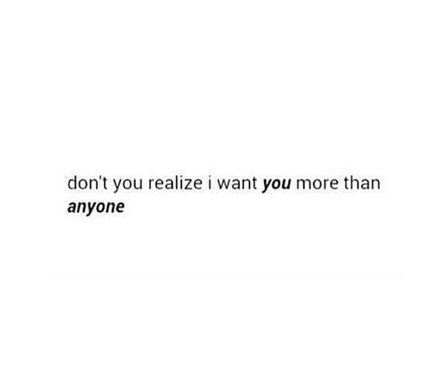 I ONLY WANT YOU BABY 😕❤️ on We Heart It