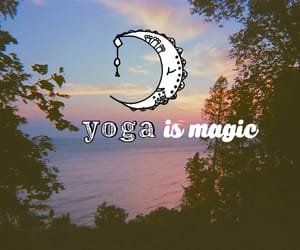free spirit, yoga, and wild heart image