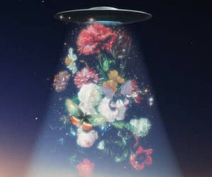 flowers, alien, and aesthetic image